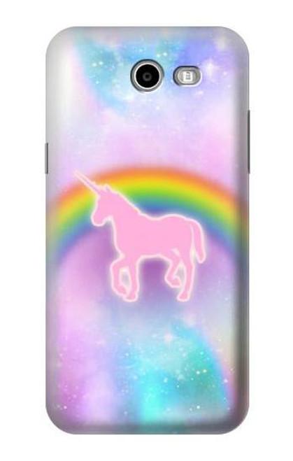 S3070 Rainbow Unicorn Pastel Sky Case For Samsung Galaxy J7 (2017), J7 Perx, J7V, J7 Sky Pro