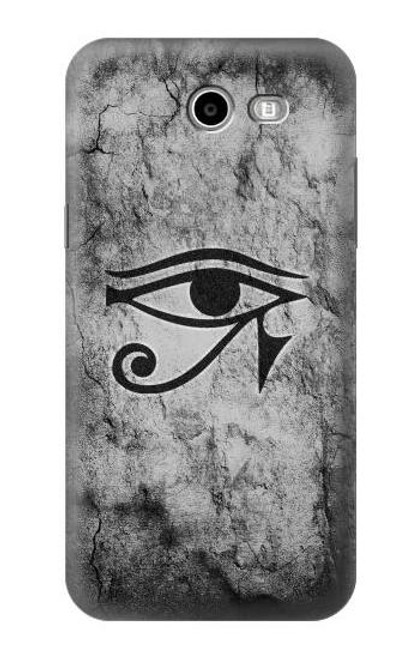 S3108 Ancient Egyptian Sun Eye Of Horus Case For Samsung Galaxy J7 (2017), J7 Perx, J7V, J7 Sky Pro