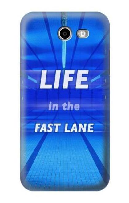 S3136 Life in the Fast Lane Swimming Pool Case For Samsung Galaxy J7 (2017), J7 Perx, J7V, J7 Sky Pro
