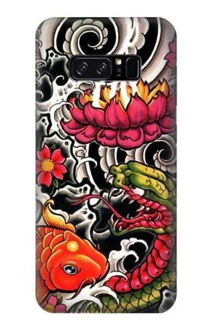 S0605 Yakuza Tattoo Case For Note 8 Samsung Galaxy Note8