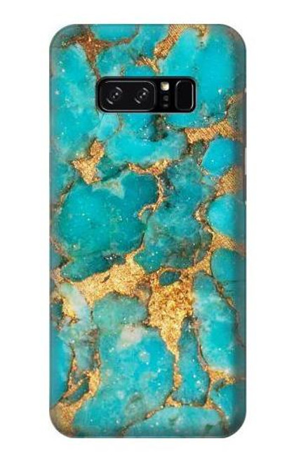 S2906 Aqua Turquoise Stone Case For Note 8 Samsung Galaxy Note8