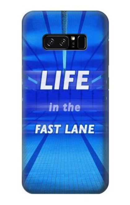 S3136 Life in the Fast Lane Swimming Pool Case For Note 8 Samsung Galaxy Note8