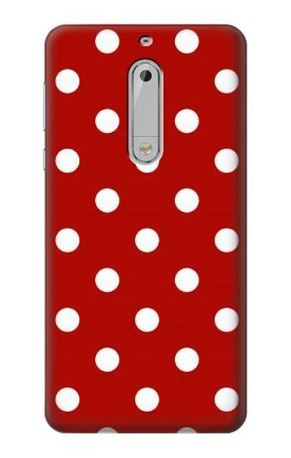 S2951 Red Polka Dots Case For Nokia 5