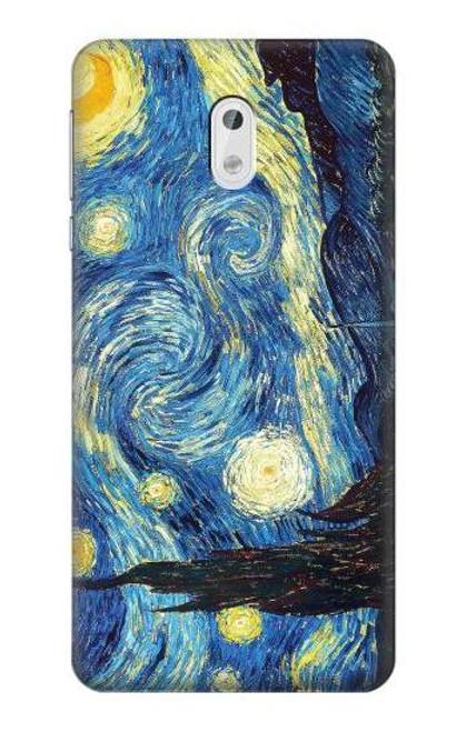 S0213 Van Gogh Starry Nights Case For Nokia 3