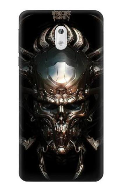 S1027 Hardcore Metal Skull Case For Nokia 3