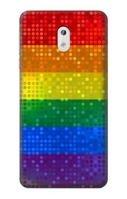 S2683 Rainbow LGBT Pride Flag Case For Nokia 3