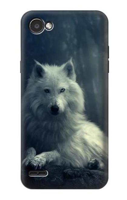 S1516 White Wolf Case For LG Q6