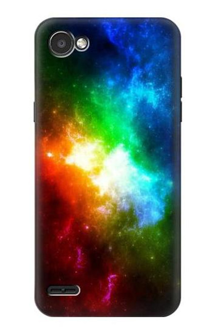 S2312 Colorful Rainbow Space Galaxy Case For LG Q6