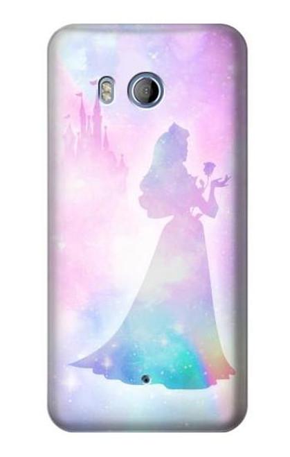 S2992 Princess Pastel Silhouette Case For HTC U11