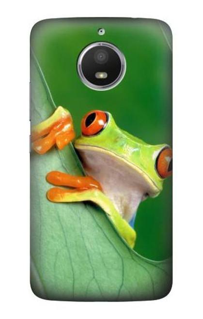 S1047 Little Frog Case For Motorola Moto E4 Plus