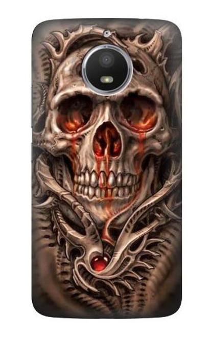 S0552 Skull Case For Motorola Moto E4 Plus