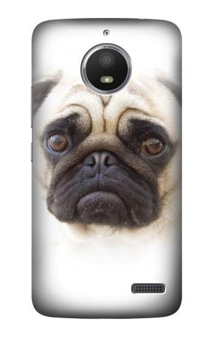 S1852 Pug Dog Case For Motorola Moto E4