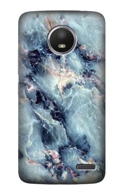 S2689 Blue Marble Texture Graphic Printed Case For Motorola Moto E4