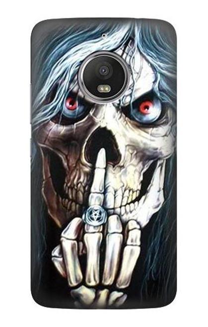 S0222 Skull Pentagram Case For Motorola Moto G5S