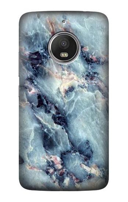 S2689 Blue Marble Texture Graphic Printed Case For Motorola Moto G5S