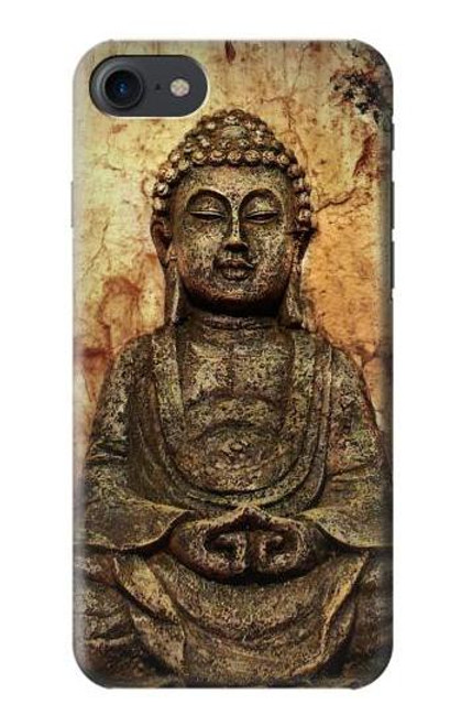 S0344 Buddha Rock Carving Case For iPhone 7, iPhone 8