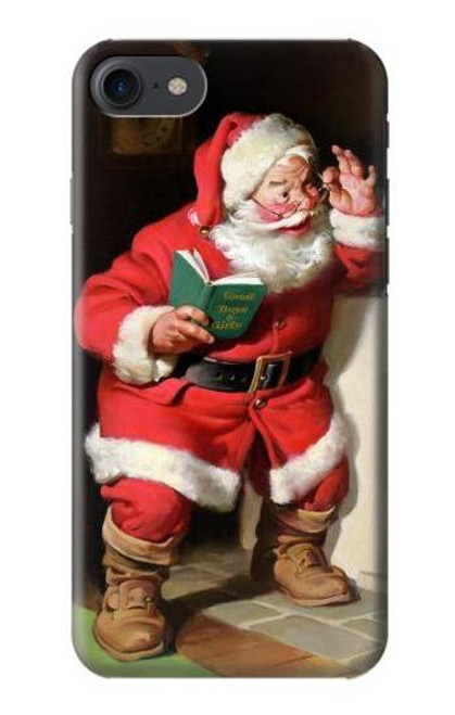 S1417 Santa Claus Merry Xmas Case For iPhone 7, iPhone 8