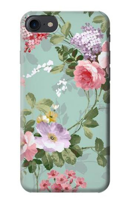 S2178 Flower Floral Art Painting Case For iPhone 7, iPhone 8