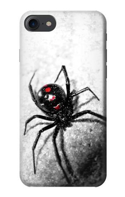 S2386 Black Widow Spider Case For iPhone 7, iPhone 8