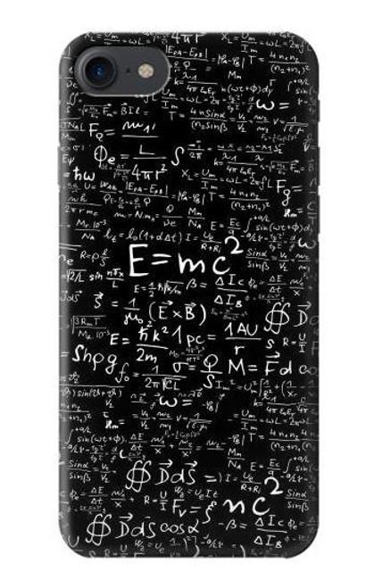 S2574 Mathematics Physics Blackboard Equation Case For iPhone 7, iPhone 8