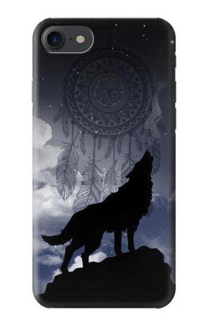 S3011 Dream Catcher Wolf Howling Case For iPhone 7, iPhone 8