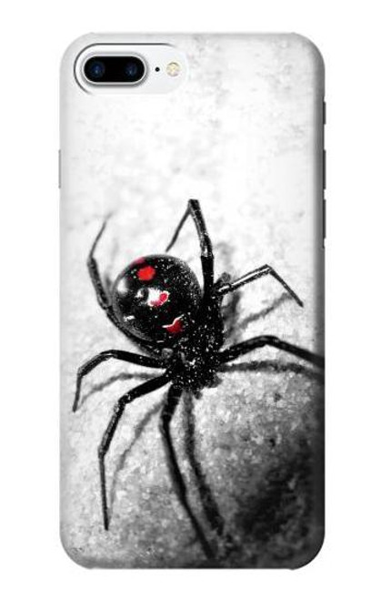 S2386 Black Widow Spider Case For iPhone 7 Plus, iPhone 8 Plus