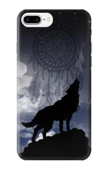 S3011 Dream Catcher Wolf Howling Case For iPhone 7 Plus, iPhone 8 Plus
