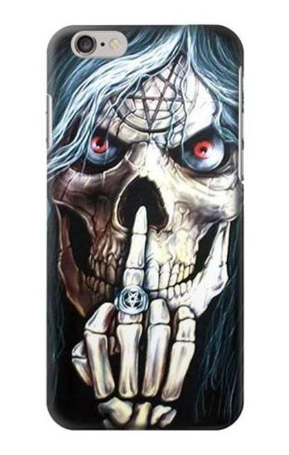 S0222 Skull Pentagram Case For iPhone 6 6S