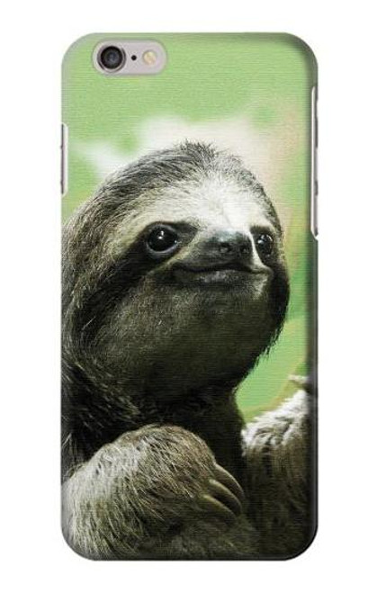 S2708 Smiling Sloth Case For iPhone 6 6S