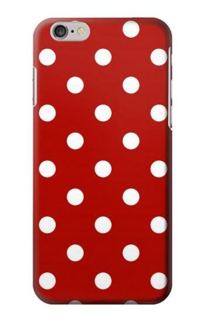 S2951 Red Polka Dots Case For iPhone 6 6S