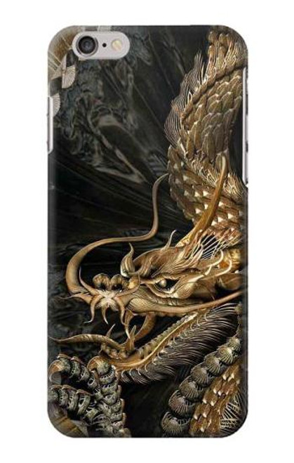 S0426 Gold Dragon Case For iPhone 6 Plus, iPhone 6s Plus