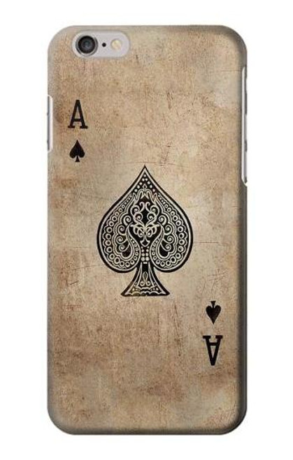 S2928 Vintage Spades Ace Card Case For iPhone 6 Plus, iPhone 6s Plus