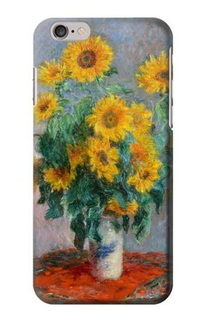 S2937 Claude Monet Bouquet of Sunflowers Case For iPhone 6 Plus, iPhone 6s Plus