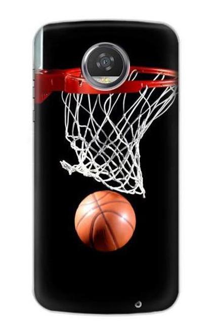 S0066 Basketball Case For Motorola Moto Z2 Play, Z2 Force