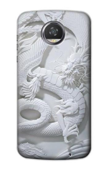 S0386 Dragon Carving Case For Motorola Moto Z2 Play, Z2 Force