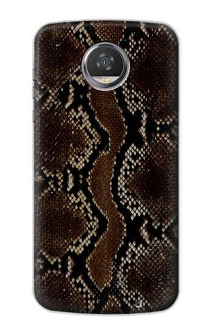 S0553 Snake Skin Case For Motorola Moto Z2 Play, Z2 Force