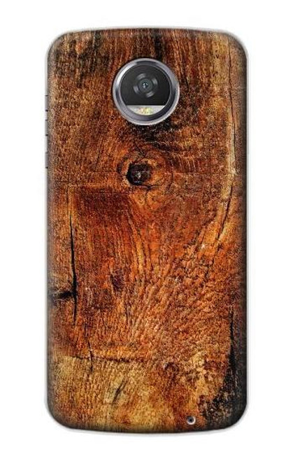 S1140 Wood Skin Graphic Case For Motorola Moto Z2 Play, Z2 Force