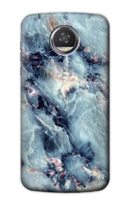 S2689 Blue Marble Texture Graphic Printed Case For Motorola Moto Z2 Play, Z2 Force