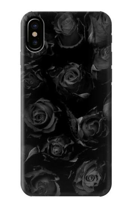S3153 Black Roses Case For iPhone 7, iPhone 8