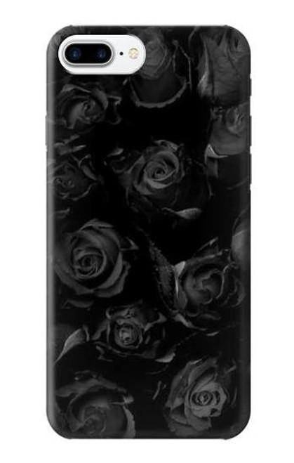 S3153 Black Roses Case For iPhone 7 Plus, iPhone 8 Plus