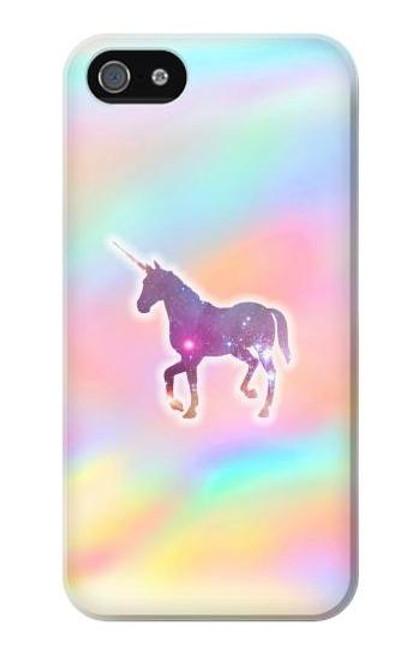 S3203 Rainbow Unicorn Case For iPhone 5 5S SE