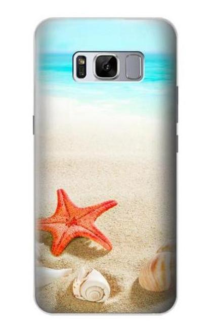 S3212 Sea Shells Starfish Beach Case For Samsung Galaxy S8 Plus