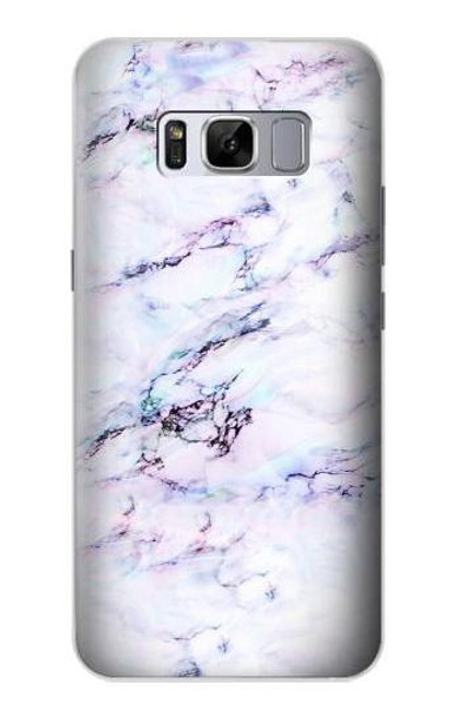 S3215 Seamless Pink Marble Case For Samsung Galaxy S8 Plus