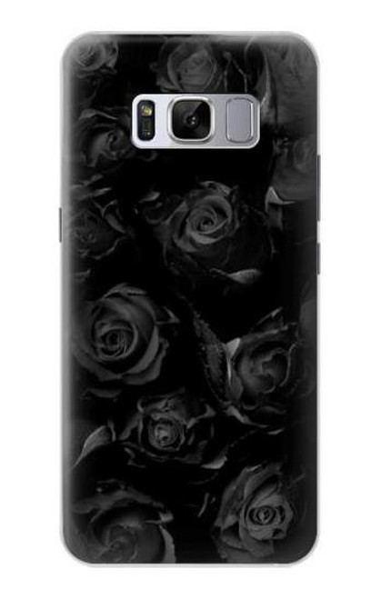 S3153 Black Roses Case For Samsung Galaxy S8