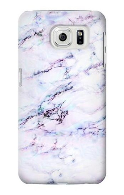 S3215 Seamless Pink Marble Case For Samsung Galaxy S7 Edge