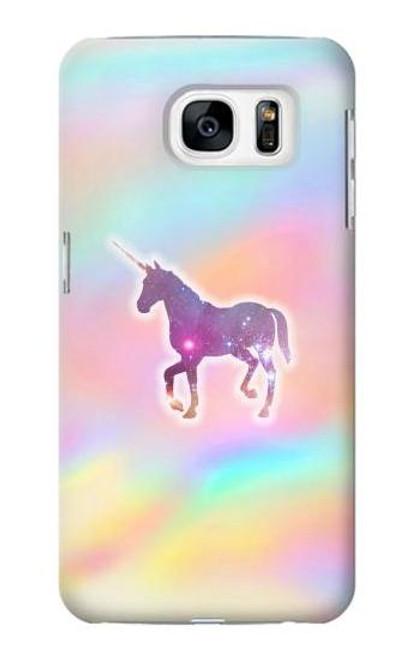 S3203 Rainbow Unicorn Case For Samsung Galaxy S7