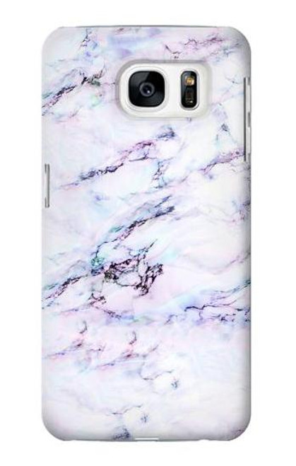 S3215 Seamless Pink Marble Case For Samsung Galaxy S7