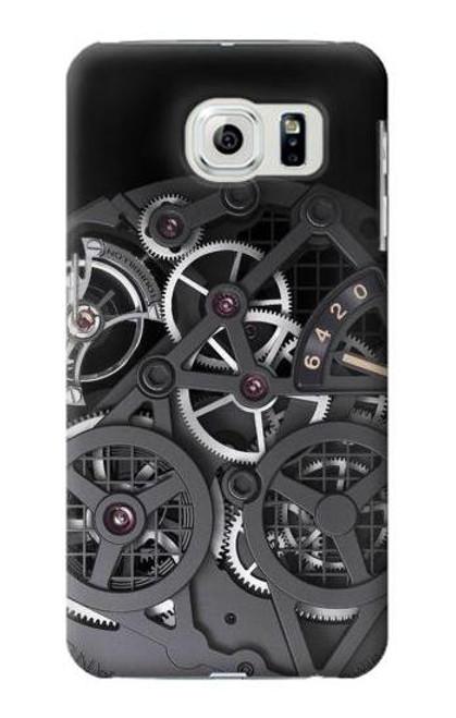 S3176 Inside Watch Black Case For Samsung Galaxy S6 Edge