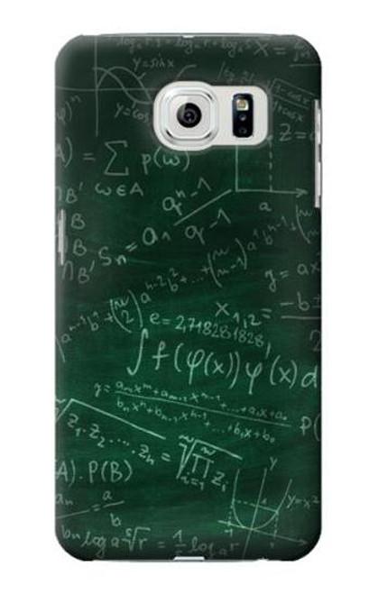 S3190 Math Formula Greenboard Case For Samsung Galaxy S6