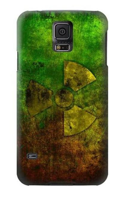 S3202 Radioactive Symbol Case For Samsung Galaxy S5
